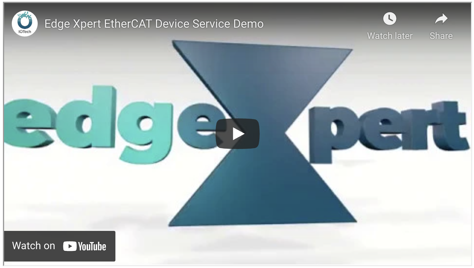 EtherCAT Support for Edge Xpert: Developer's Perspective