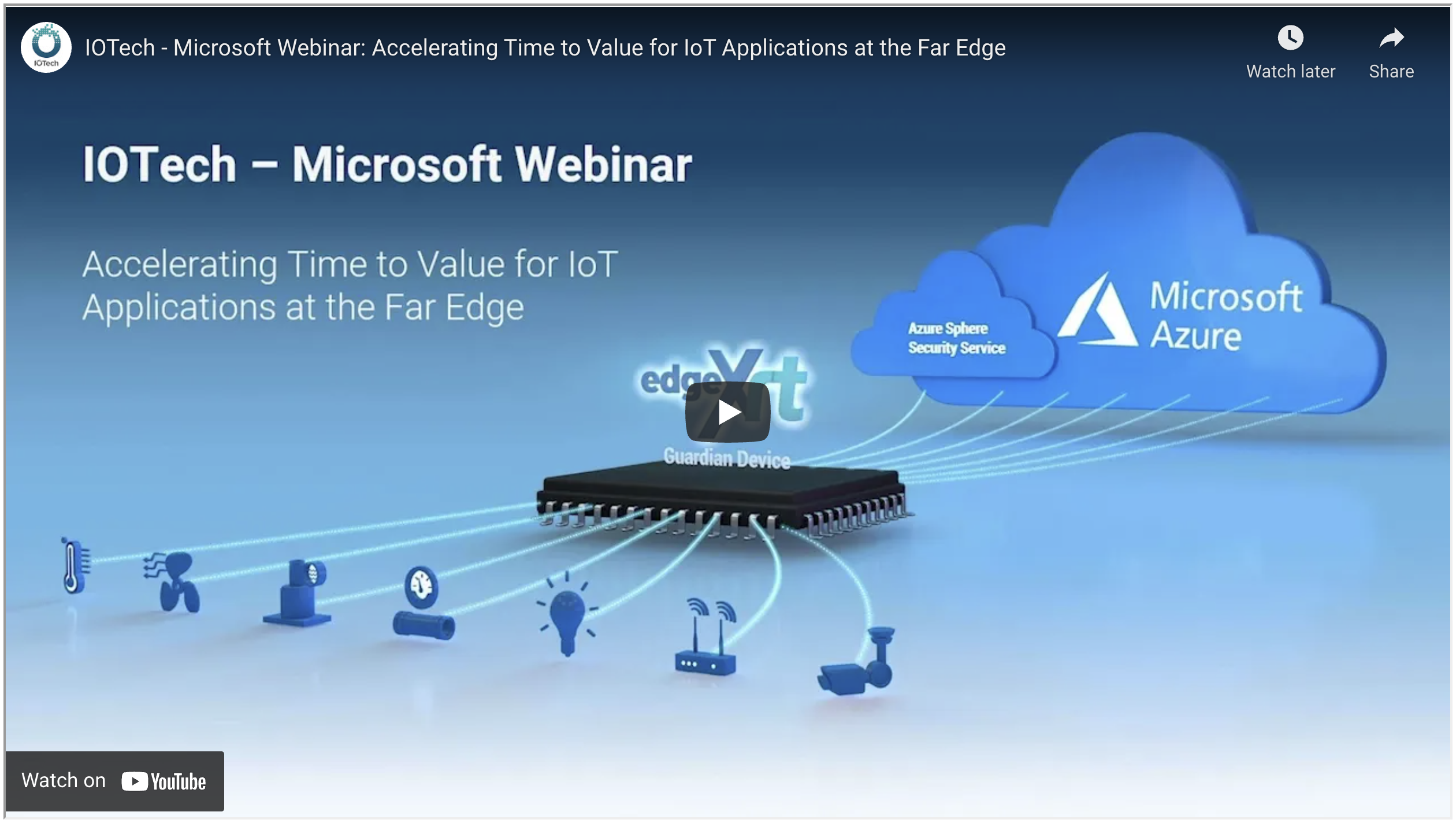 IOTech Webinar: Accelerating Time to Value for IoT Applications at the Far Edge